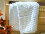 Toiles de toilette blanches 100% coton antidérapantes pour l'hôtel
