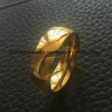 De comfortabele Beste Verkopende Goud Geplateerde Ring van de Vinger van Juwelen (SSR2689)
