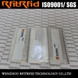 Markering van de Sticker H3/H4 Zelfklevende RFID van de Lange Waaier van het Ontwerp van de douane de Vreemde voor het Beheer van Activa