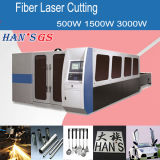 Grand pouvoir avec le coupeur de laser de fibre du GS de Han