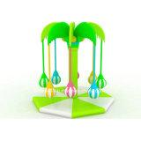 El omnibus plástico de interior colorido popular del ajuste embroma el juego suave