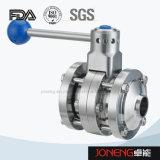 Válvula de mariposa de acero inoxidable higiénico Blocado / bridada (JN-BV2006)