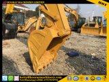 Máquina escavadora do gato 320b, máquina escavadora usada da lagarta 320b, máquina escavadora usada da esteira rolante