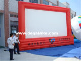 Напольный большой раздувной экран киноего для рекламировать