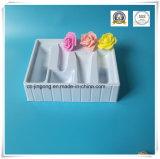 Dienblad van de Verpakking van het Dienblad van de Blaar van Cosmestic het Plastic