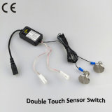 DC12V LED Light Metal Dimmable Double Touch Sensor Switch