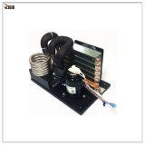 R134A 12V Gleichstrom-kondensierendes Gerät mit Kondensator-Flossen für medizinische und Schönheits-kleine abkühlende Anwendung
