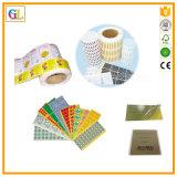 Kundenspezifischer Firmenzeichen-Kunstdruckpapier-Aufkleber von China