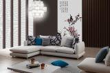 Stressless & sofà sezionale comodo dell'angolo del tessuto