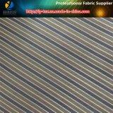 Sofortiges Waren-Polyester-Garn-gefärbtes Streifen-Gewebe für Umhüllungen-Futter (S44.170)