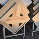Azulejo especial del mármol de la dimensión de una variable, azulejos de Brown para el suelo