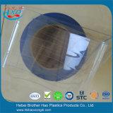 明確で青い帯電防止PVCストリップのカーテンのきっかり肋骨で補強され、ナイロンによって補強されるシート