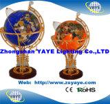 Hete Yaye 18 verkoopt de Bol van de Halfedelsteen van de Verlichting van Ce RoHS/de Bollen van de Halfedelsteen/de Bollen van de Wereld met Verlichting