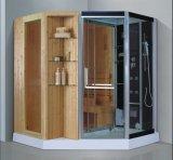 Sauna combiné par vapeur avec la douche (AT-D8857)