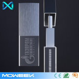 azionamento dell'istantaneo del USB del bastone dell'azionamento di memoria del USB 2.0 dell'a cristallo di marchio 3D