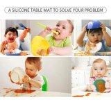 Дети Placemats Resusable обедающего силикона портативные