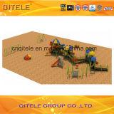De nieuwe Apparatuur van de Speelplaats van Kinderen Kistale Openlucht