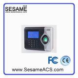 Fréquentation biométrique du temps d'intervention (SOTA710C)