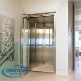 Tipo direto elevador residencial Gearless da tração do preço de fábrica do passageiro do Mrl