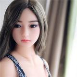 165cmの大人のプラスチック性の人形、大型のシリコーンの性の人形