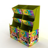 POS Supermarket Marketing Four Sides Full Pallet Pen Cardboard Display