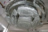 Het moderne Luxueuze Licht van de Kroonluchter van het Glas voor het Project van het Hotel