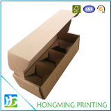 Brown Kraftpapier Box mit Compartments Cardboard