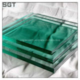 vidrio laminado templado hierro inferior de 6.38m m para el edificio