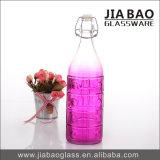 1000mlスプレーカラーソーダライムのガラスワイン・ボトル