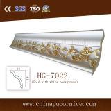 Alta densidad de moldeo de techo de poliuretano corona para el diseño de vivienda