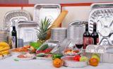 世帯または台所使用またはレストランの使用のためのアルミホイルの容器