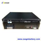 батареи лития телекоммуникаций 24V 100ah, батарея фосфата утюга лития Cspower для хранения телекоммуникаций