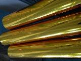 ファブリックおよび衣服によってカスタマイズされるサイズのための金の熱伝達の熱い押すホイル