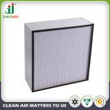 Separador de papel de tamaño H13 Filtro de aire HEPA