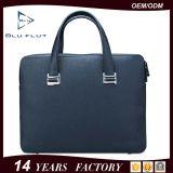 Kundenspezifische Firmenzeichen-Form-Handtaschen-echte volle Korn-Leder-Aktenkoffer-Beutel