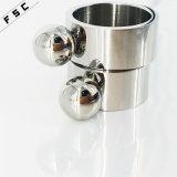 Anillo unisex del dedo especial del diseño de la joyería del acero inoxidable de la manera