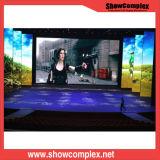 Farbenreiche verbrauch-Ereignis-Stadium LED-Bildschirmanzeige des LED-Mietbildschirm-P3.9 Innen