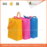 Bolsa de papel de encargo profesional directa de la alta calidad de la fábrica con la maneta