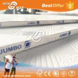 Gravar o teto Bord da gipsita do PVC com parte traseira da folha de alumínio