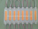 El módulo 70*18 de la MAZORCA del color verde LED impermeabiliza el módulo del LED