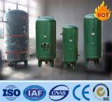El tanque de almacenaje vertical de aire para el compresor de aire