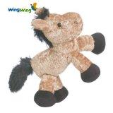 귀여운 아기 Hourse 장난감에 의하여 채워지는 견면 벨벳 동물