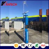 Непредвиденный станция башни Knem-21 телефона голубая светлая
