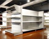 Étagère ordinaire de crémaillère d'étalage de supermarché de gondole en métal (OW-A01)
