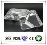 Aluminiumaluminiumfolie-Behälter für die Nahrung Take-out