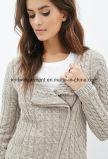 Кардиган свитера горячих сбываний способа девушки OEM длинний (W18-254)