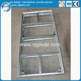 Sistema modular do molde da coluna do frame de aço com solução