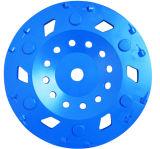 Rueda abrasiva PCD Copa rueda de concreto que muele