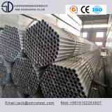 Tubo d'acciaio rotondo saldato di S235jr Pregalvanized/tubo d'acciaio
