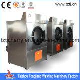 100kg industrial 120kg 150kg, secadores comerciais da queda do gás da lavanderia 180kg